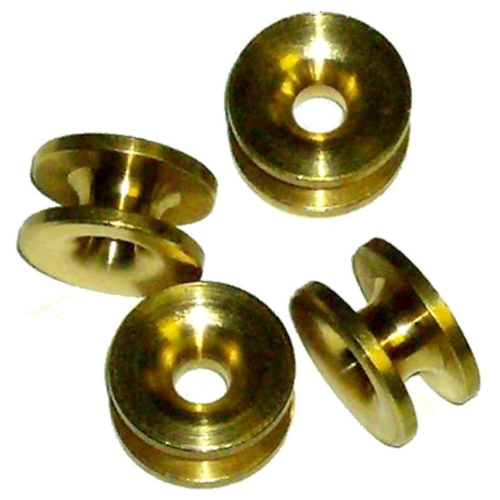 Universal Brass Strimmer / Brushcutter Eyelets Pack Of 4